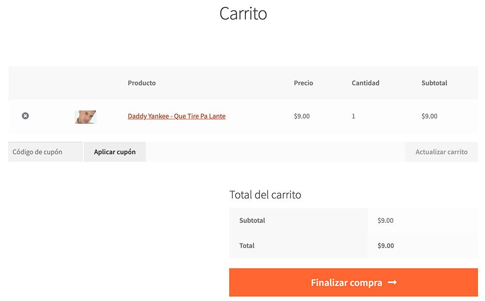 carrito de compras de elmidi.com